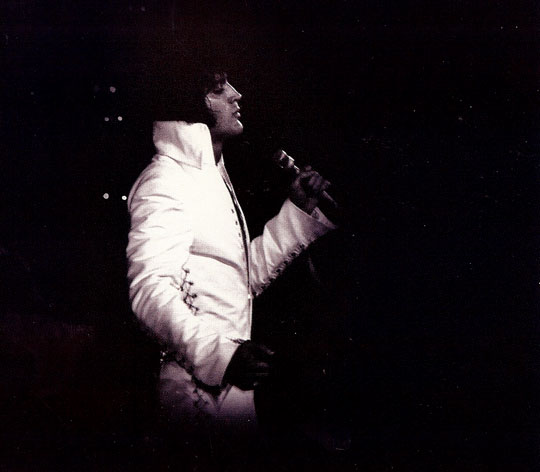 Elvis Presley live im am 11. November 1970