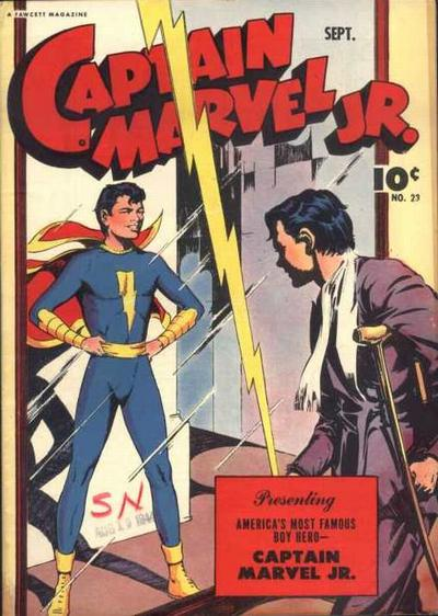 Cover eines Captain Marvel-Comics
