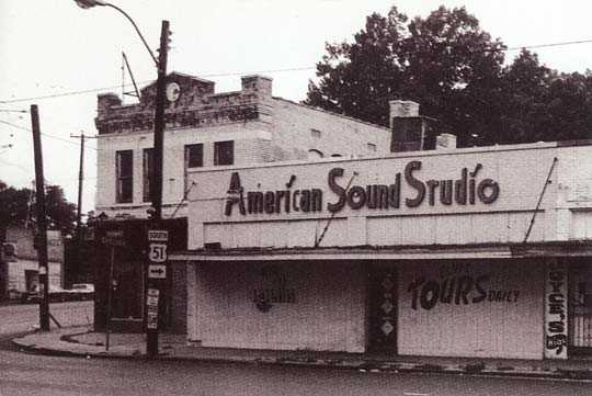 A funky funky studio - Chip Momans American Sound Studio in Memphis