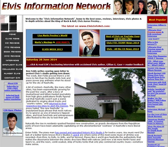 Highly recommended: Elvis Information Network
