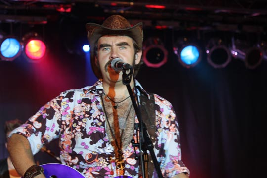 Frontmann von 'Danny and the Wonderbras' - Foto: The Memphis Flash