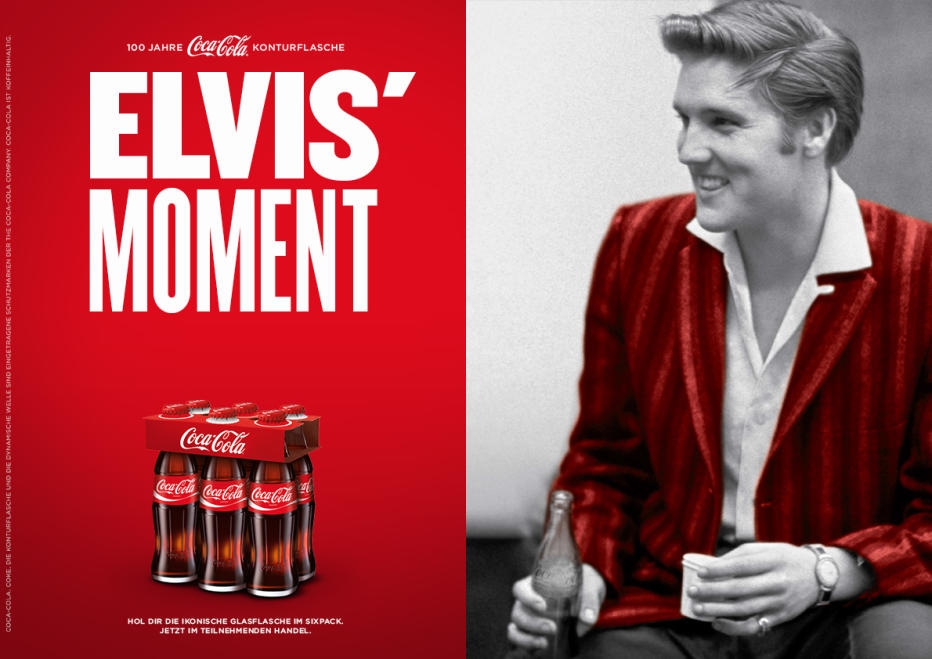 Revisited Elvis In Der Werbung The Memphis Flash